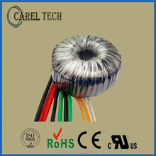 Over 35 year- CE ROHS approved, 2-year product warranty toroidal transformer 220V 24V 500W