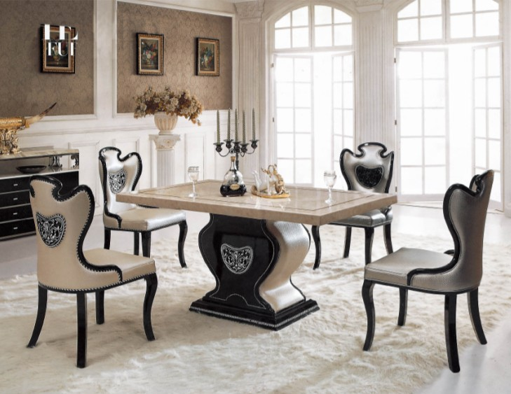 model living dining room table set buy dining set marble dining