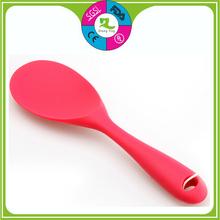 Ingrosso di alta qualità personalizzate in silicone cucchiaio di riso, di riso di silicone scoop& non- bastone di riso scoop