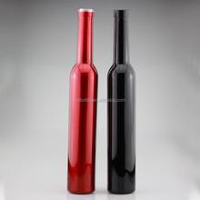Custom made ice wine bottle 375ml bowling shape bottle oil glass bottle