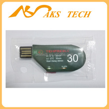 USB Temperature Data Logger, USB Datalogger, LCD Display 90days max Data readings