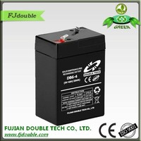 China supplier fast delivery agm 6v 4ah rechargeable lead acid battery for ups&solar