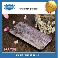 USAMS High Quality Wood Texture Mobile Phone Back Case for iphone 6 plus case