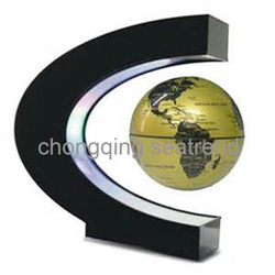 Glod supplier magnetic material astronomy floating magnetic suspended globe