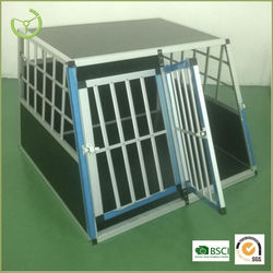 2015 Outdoor Cheap aluminum dog cage/for sale dog cage