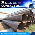 Espiral soldada tubos de acero y tubos