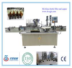 SGXZ--Automatic Aluminum cap Sealing Machine glass bottle screw on capping