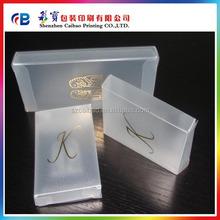 clear plastic box , cell phone box PVC /PET/ PP plastic box factory supply