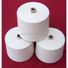 China supplier wholesale spun polyester sewing thread/100%polyester spun yarn for socks/fashion dresses/jeans 10s-30s best price