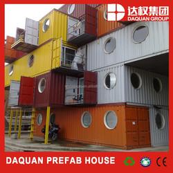 Light steel garage design/Prefabricated light container gauge steel framing