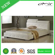 italian luxury crocodile leather bed SS8103
