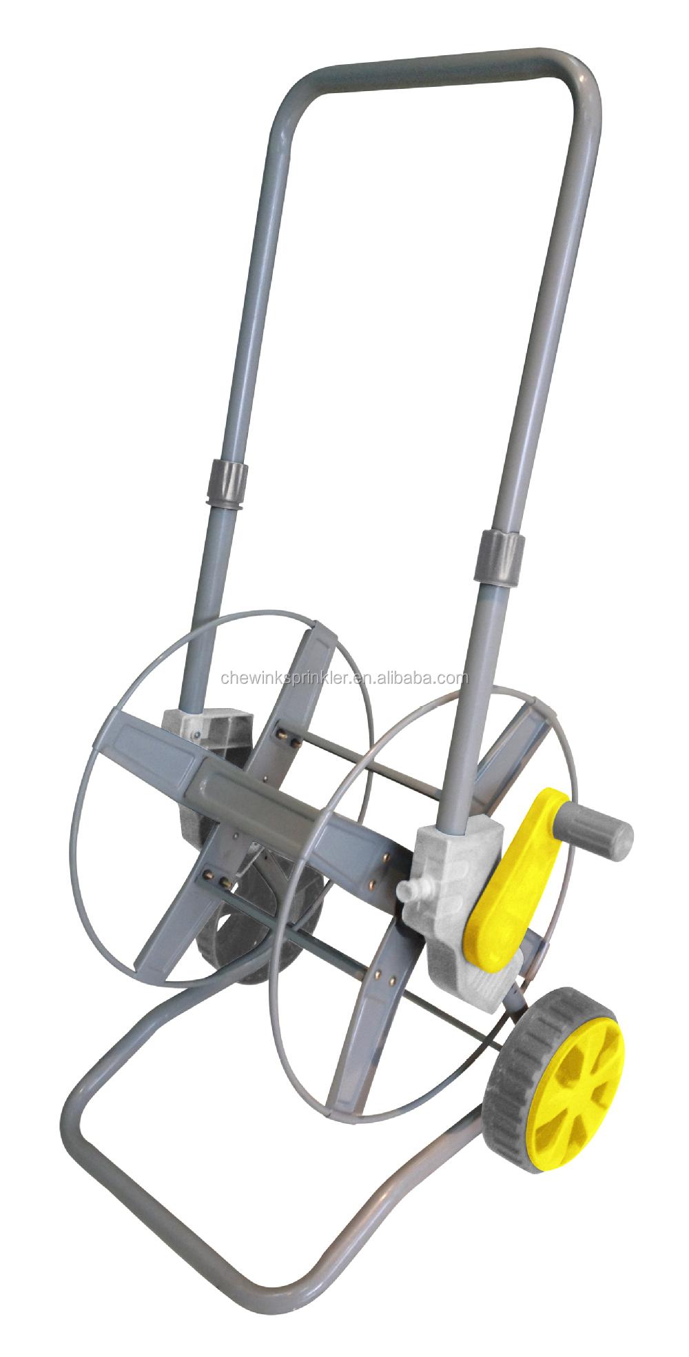 P20103 Metal Garden Manual Foldable Hose Reel Cart Buy Garden Hose Reel Cart Metal Hose Reel
