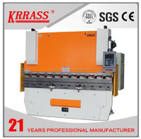 Hot Sale iron steel plate press break automatic sheet metal bending machine with 4 axis