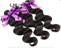 manufactured body wave virgin brazilian remy human hair extensions products made in china from Brazil
