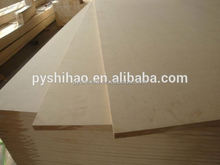 Low price good quality melamine sheet and MDF fiberboard