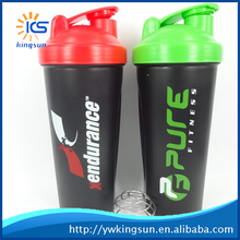 2015 New Products Protein Shaker Water Bottles Cheap Plastic Bottles for Mixing Nutrition Powder Factory Directly