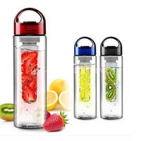 Newest 700mL Portable Leak-proof Unbreakable Sport Travel Fruit Kettle Water Bottle Cycling Camping Cup Drink Bottle 3 Colours