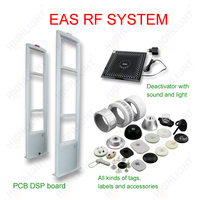Highlight R006 Retail security 8.2mhz EAS alarm RF antitheft system/ anti shoplifting supermarket security sensor
