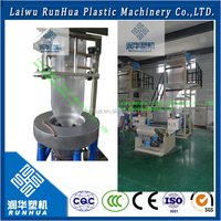 vinyl film manufacturing process film plastic blown extrusion machine line