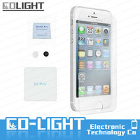 Tempered glass screen protector for molds for touch iphone 5