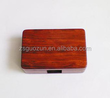 New bulk Cute vintage wooden business card holder,(S) wood cardcase/ card cover