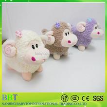 three colors cute plush sheep mini toy wholesale, Australian sheep