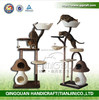 Customized sisal cat scratching tree cat condos and trees
