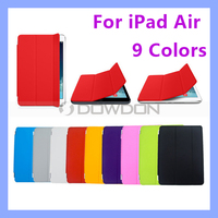 9 Colors Smart Cover for iPad Air 5 Magnetic Cover Case