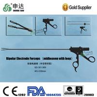 Laparoscopic instruments Bipolar Electrode Forceps(midheaven with loop)