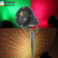 2015 newest waterproof laser light twinkling star pattern lawn laser light christmas light