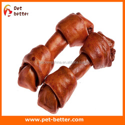World of Pets Rawhide Knot Bone Perfect for Keeping your Dog Occupied dog snacks whole dog food