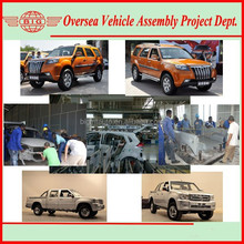 China auto manufacturer looking partners for Pickup & SUV ckd assembly in local