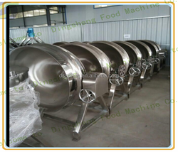 jacketed kettles for lamb//marinated beef jacketed kettle//boiling meat cooker