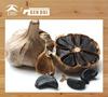 Pure natural organic black garlic