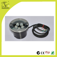 Outdoor 24V round LED wall washer lighting
