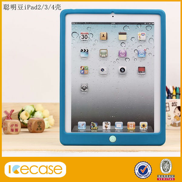 Silicone case for ipad 2 3 4, for apple ipad air cases,for ipad silicone case