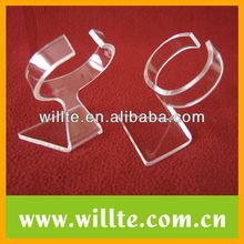Acrylic C circle watch