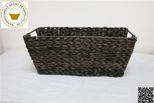 Practical Durable Plastic Rattan Storage Basket Wholesale