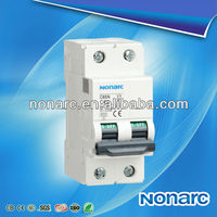 C65N IEC60898 MCB Ac Overload Protector Switch