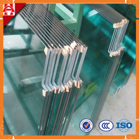 Clear Tempered Glass Panel / Tempered Glass Fencing / Toughened Fencing Glass