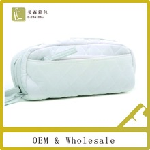 White Wholesale Pu Cosmetic Bag Makeup Bag Basics Cosmetic Bag Waterproof Cosmetic Pouch Cotton Cosmetic Bag