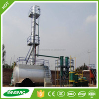 New Design Used Engine Oil/Tyre, Plastic Pyrolysis Oil Recycling Refining Machine For Diesel