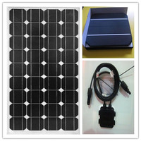 CE, TUV,UL approved low price monocrystalline solar panels 100watt