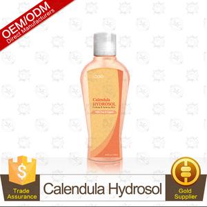 100% Puro e Organico Calendula Hydrosol (Acqua di Fiori, Acqua floreale, Hydrolats) 235 ml Rassodante e Calmante Della Pelle Fornitura OEM