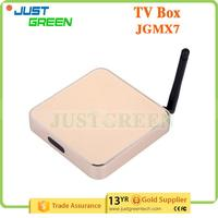 Gold Supplier JGMX7 Amlogic S805 Quad-Core 1GB 8GB WIFI unlock cable tv box with great price