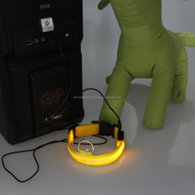 led usb rechargeable dog collars/led collars for dogs dog sex/led collar dog