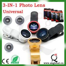 lente de vidrio óptico para Samsung HTC Nokia s4