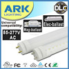 4ft 1200mm 18W 20w led tube 8 direct plug and play electronic ballast compatible t8 led tube bulb with UL DLC CUL VDE listed