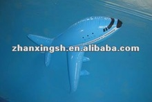 China Shanghai factory hot sale children toy PVC inflatable airplane