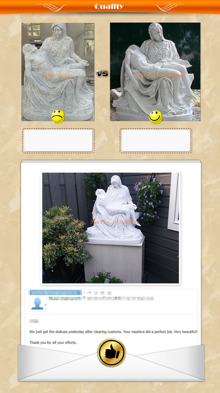 Marble Statue of Naked Woman
